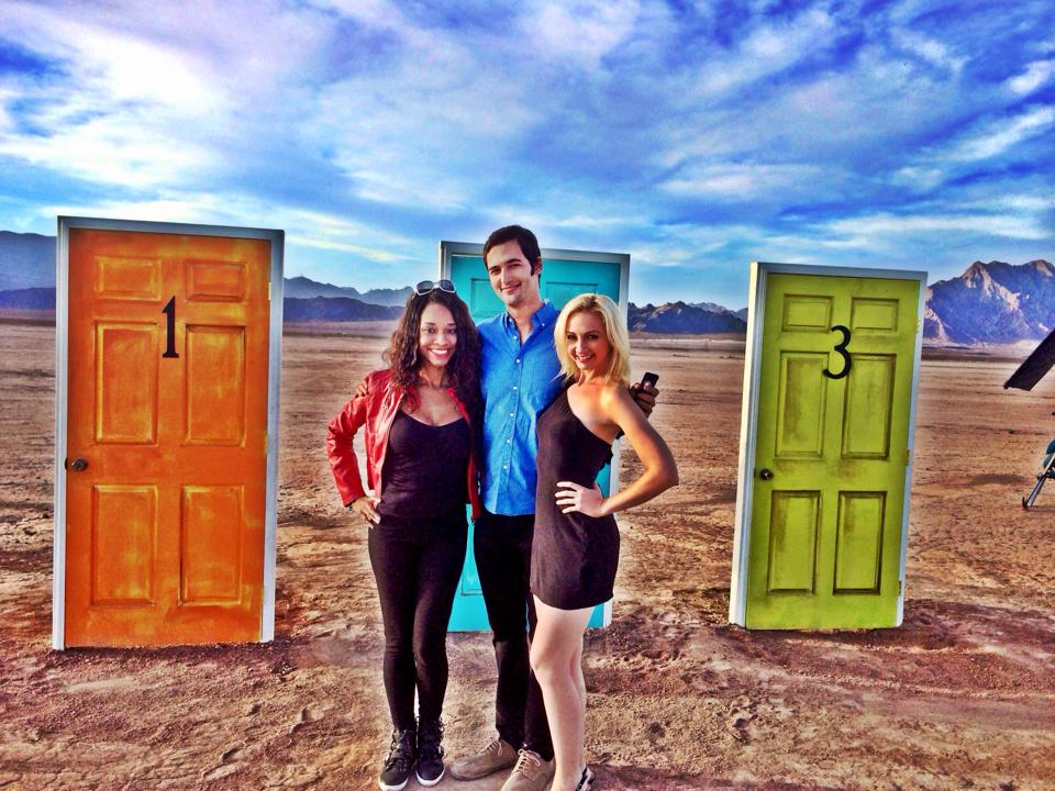On the set of Brain Games with Jason Silva…
